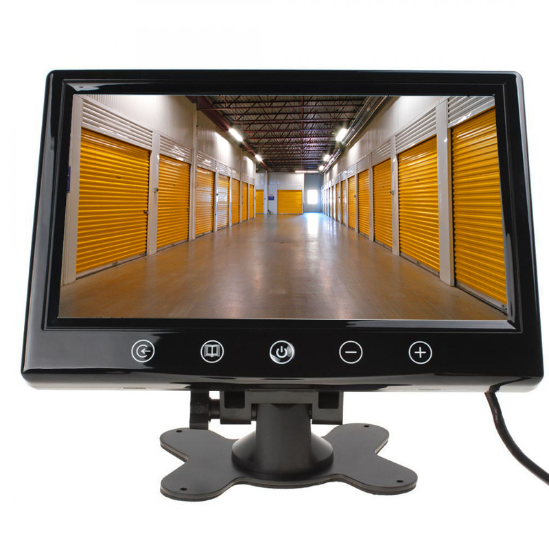17 8 cm 7 lcd berwachungsmonitor f r berwachungskamera farbe monitor ebay. Black Bedroom Furniture Sets. Home Design Ideas