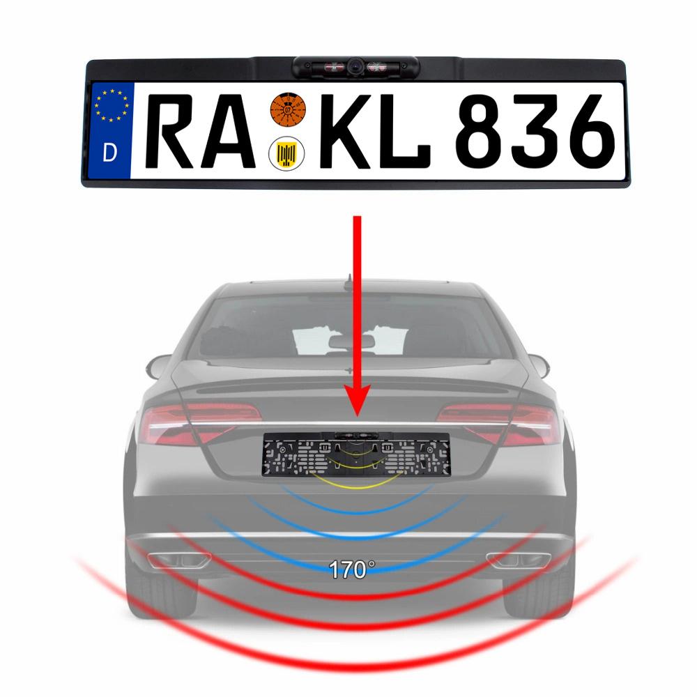 Rückfahrkamera 170 GRAD IR Kennzeichen AUTO KFZ Nummernschild 10 ...