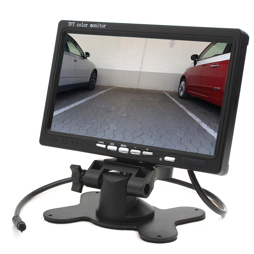 r ckfahrsystem mit r ckfahrkamera und monitor f r auto kfz. Black Bedroom Furniture Sets. Home Design Ideas