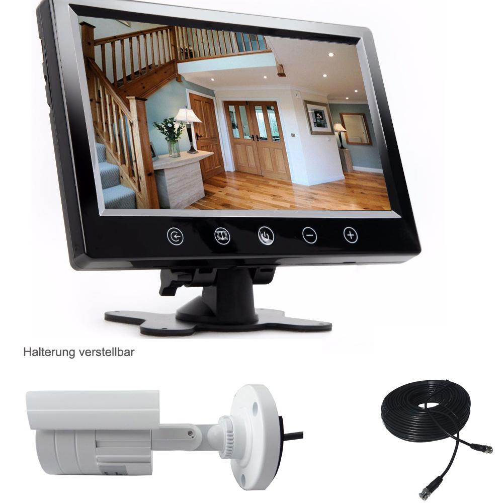 berwachungskamera berwachungssystem video berwachung ebay. Black Bedroom Furniture Sets. Home Design Ideas